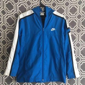 Vintage blue white and black NIKE jacket